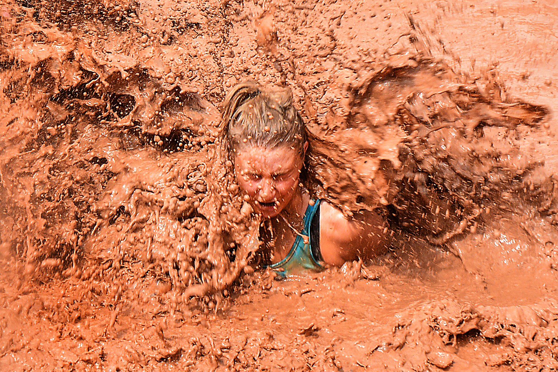 Commercial - JCB Mud Run