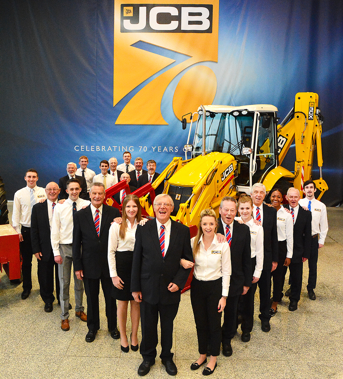 JCB 70th Anniversary