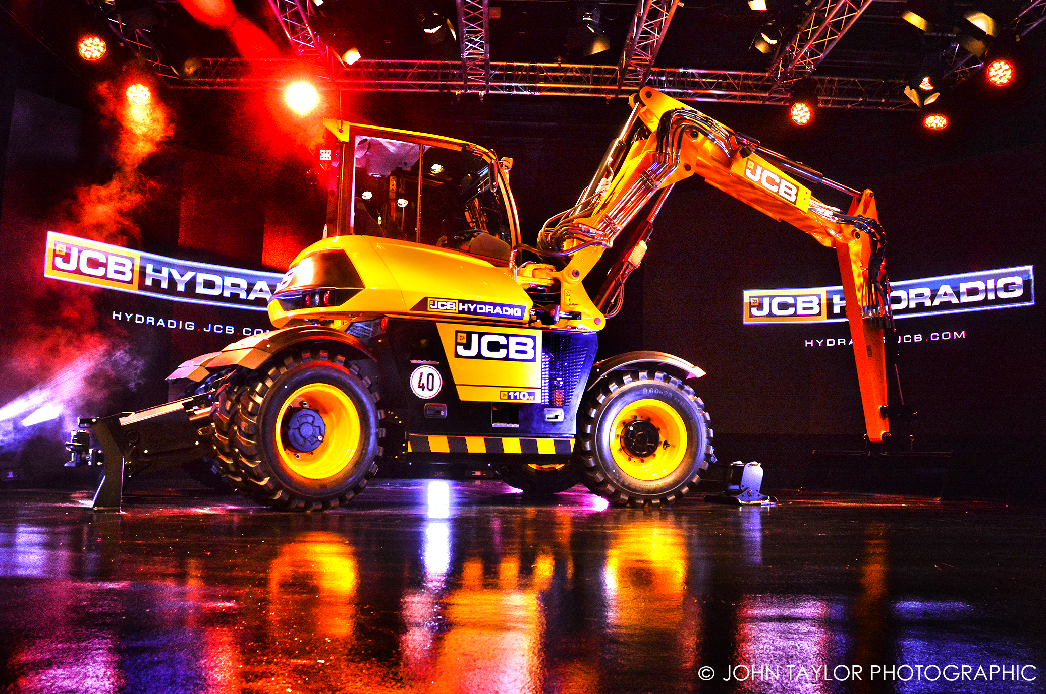 JCB Hydradig launch
