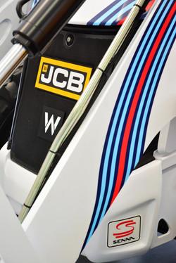 JCB 3CX Compact & Williams F1