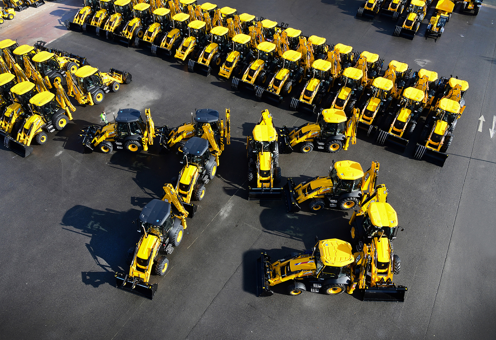 Celebrating 75 years of JCB