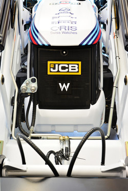 JCB 3CX Compact - Williams F1