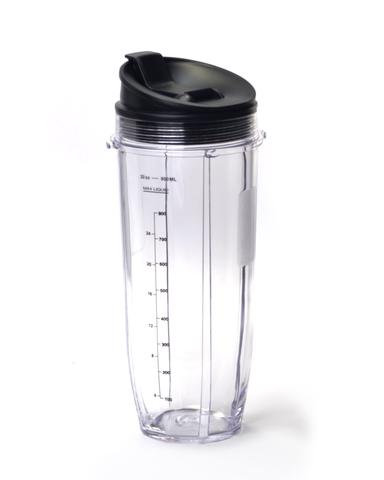 Nutri Ninja Auto IQ Large Cup Replacement + Travel Lid : 32 oz
