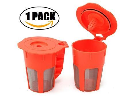 Keurig K carafe Reusable Filter : Plastic : 2 pack