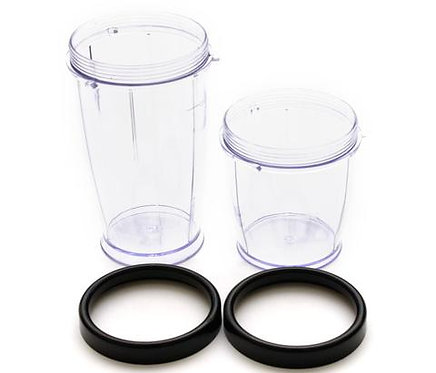 Bella Rocket Short Cup + Tall Cup + Lip Ring Replacements