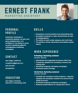 all colors and photos can be customized when we create the perfect resume for you - Pimp My Resume