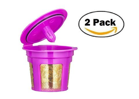 Keurig KCup Reusable Filter : Gold : 2 pack