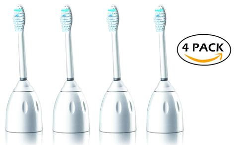 Philips Sonicare E Series 4 pack Replacement Brush Heads