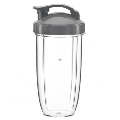 Nutribullet 600W 900W Large Cup + Travel Flip Top Lid : 32oz