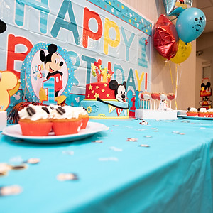 Roman's 1st Birthday
