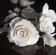 Роза из фарфора париан