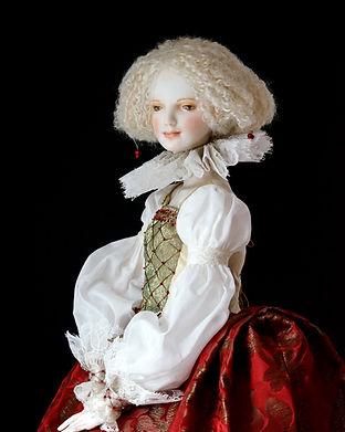 шарнирная фарфоровая кукла Оксаны Сахаровой Калининград