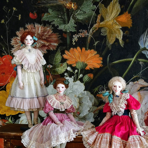 Куклы Оксаны Сахаровой