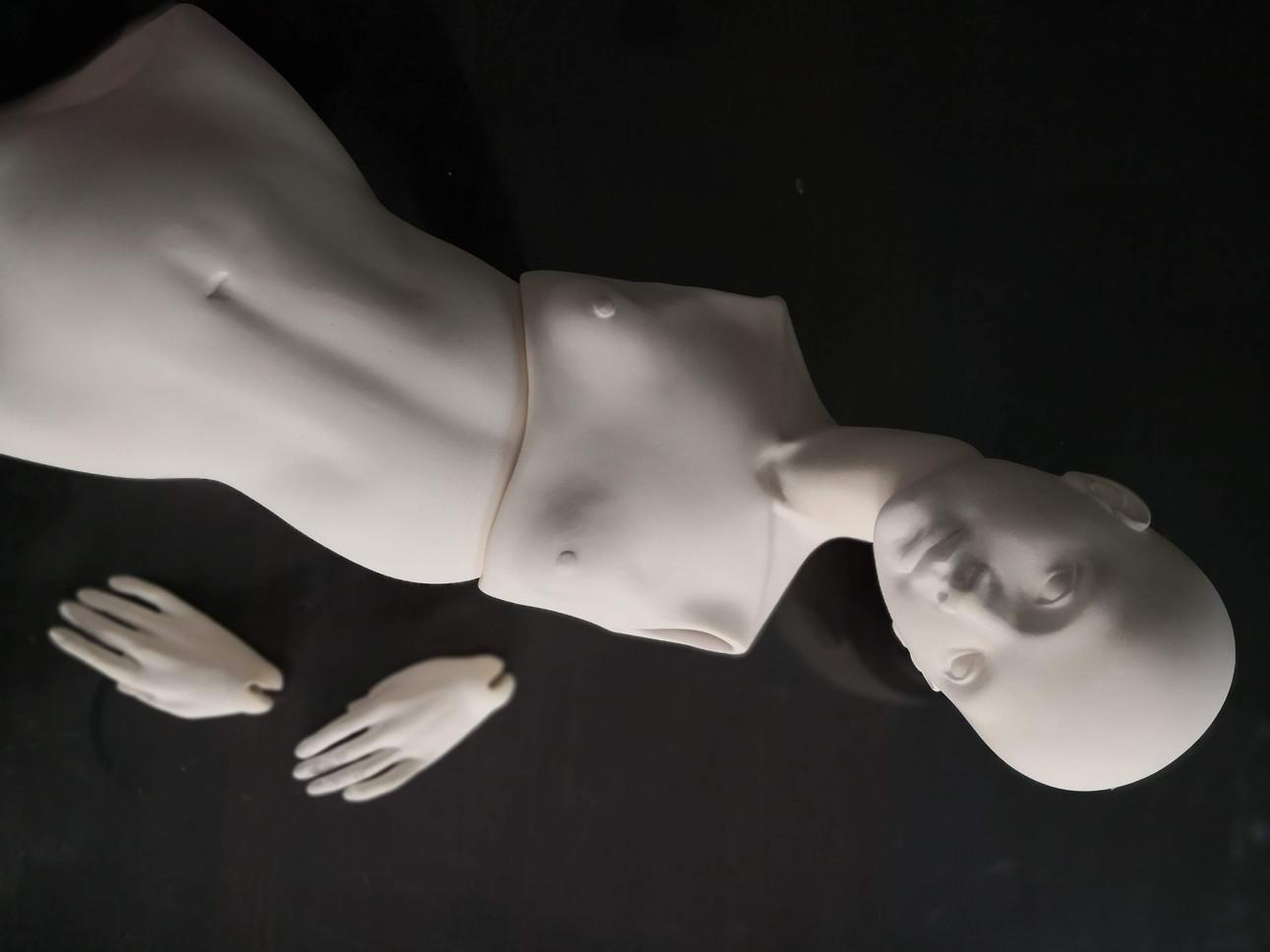 сборка шарнирной куклы из фарфора