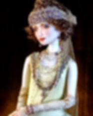 шарнирна фарфоровая кукла Оксаны Сахаровой Калиннград