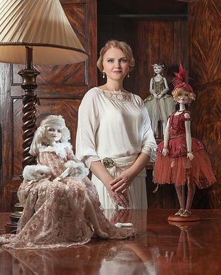 шарнирные фарфоровые куклы Оксаны Сахаровой Калининград