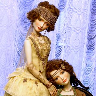 Мэри и Николь. фарфор