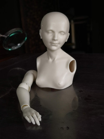 сборка шарнирной куклы