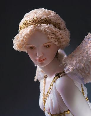 шарнирна кукла из фарфора Оксаны Сахаровой Калининград