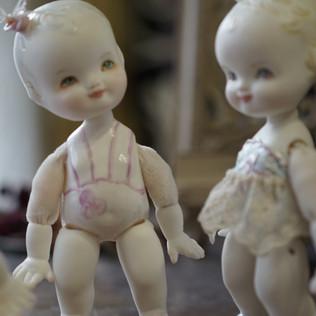 Кукла-малышка из фарфора LoveChild