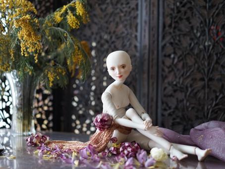 Новая кукла Оксаны Сахаровой и немного процесса