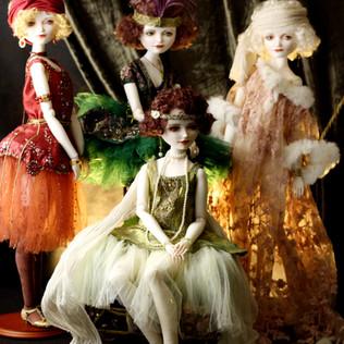 Девушки Зигфилда. фарфор. 2013