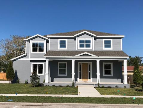 Velett Residence | Front Elevation