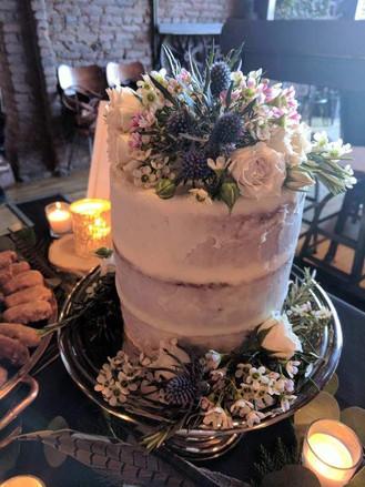 Cake Topper Wedding Cake