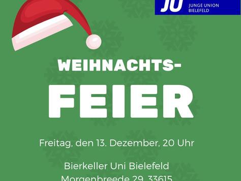 Weihnachtsfeier der JU Bielefeld