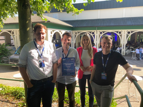 JU-Bielefeld mit der besten Aktion auf dem JU-NRW Tag in Olpe ausgezeichnet