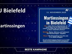 Digitales Martinssingen in Bielefeld