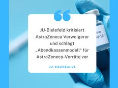 """JU-Bielefeld kritisiert AstraZeneca Verweigerer und schlägt """"Abendkassenmodell"""" vor"""