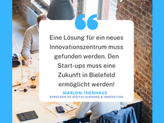 Ehemaliges Innovations-Centrum Bielefeld (ICB): Junge Union fordert Alternative