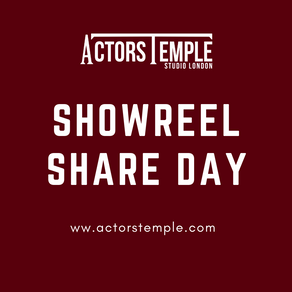 #ShowreelShareday