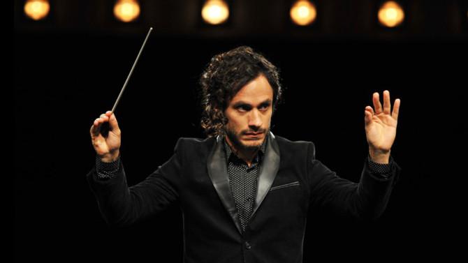 Gael Garcia Bernal as Rodrigo in Mozart in the Jungle