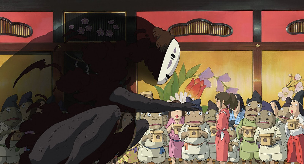 Film Review Spirited Away 2001