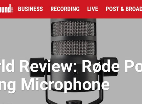 Real world Review: Rode Podmic
