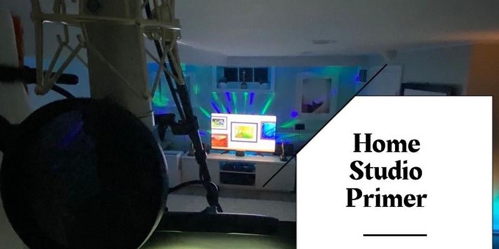 Home Studio Primer