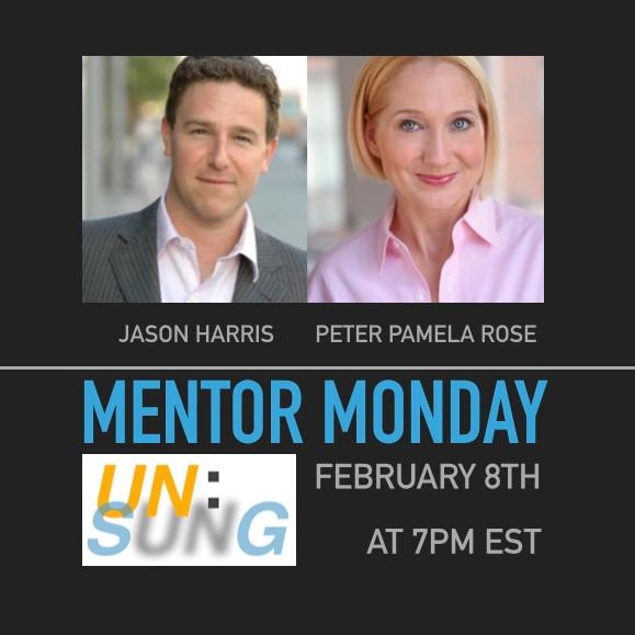 Mentor Monday: Jason Harris and Peter Pamela Rose!