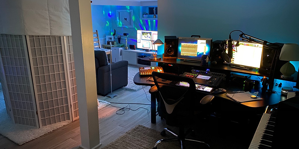 Lunch Lecture: Home Studio Primer- Up Your Home Game!
