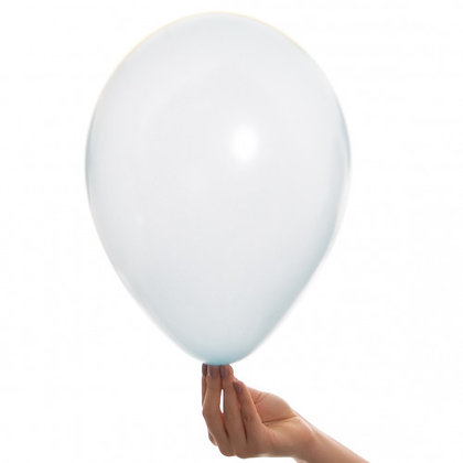 Pearl Blue 11 inch Latex Party Balloons