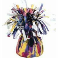 BALLOON WEIGHT FOIL - TIE DYE