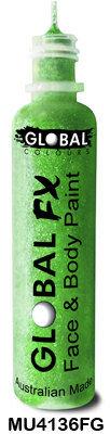FLURO GREEN GLOBAL FX GLITTER