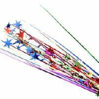 SPANGLE STAR SPRAY - MULTI  COLOURED