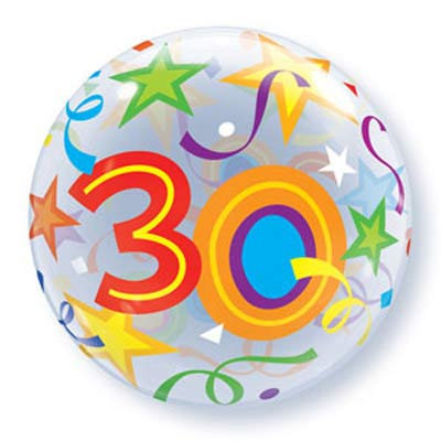 56CM 30 BUBBLE BALLOON
