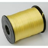 CRIMPED CURLING RIBBON - YELLOW