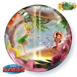 56CM TINKERBALL AND FRIENDS BUBBLE BALLOON