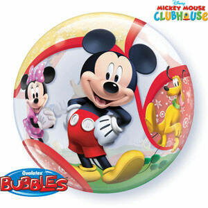 56CM MICKEY MOUSE CLUB HOUSE BUBBLE BALLOON