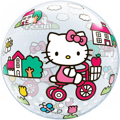 56CM HELLO KITTY BUBBLE BALLOON