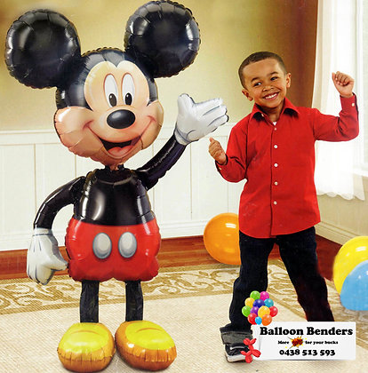 HELIUM FILLED AIR-WALKER MICKEY MOUSE